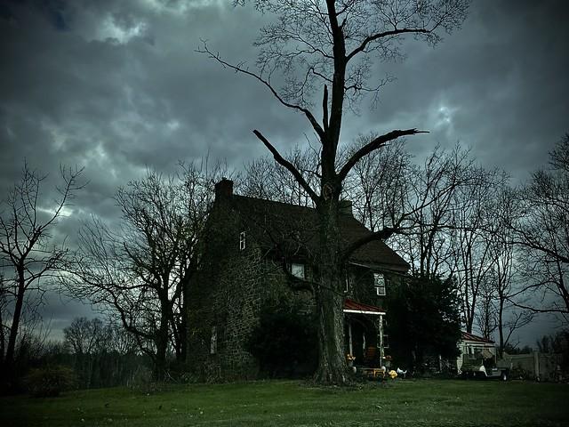 Dark House on Swamp Road...