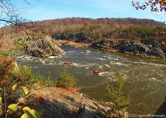 rescue crews ready to save unwary visitors from the power of the Potomac