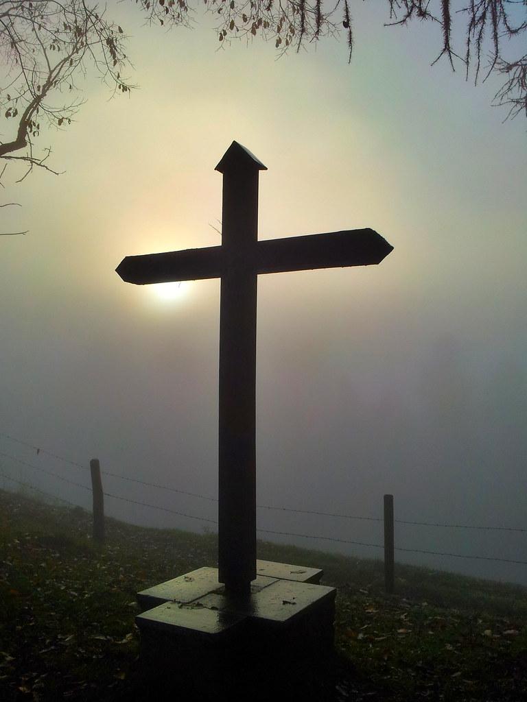 Kreuz auf Sonnenberg bei Kriens / Luzern