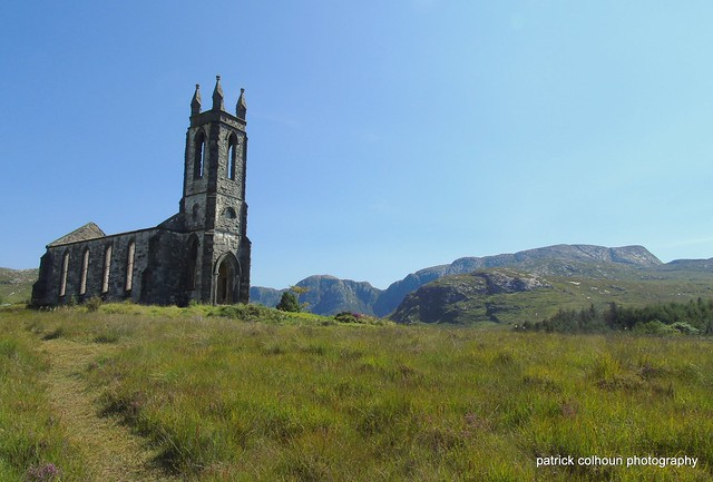 Dunlewey church ruin