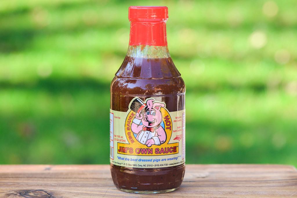 Jim's Own Sauce Hot