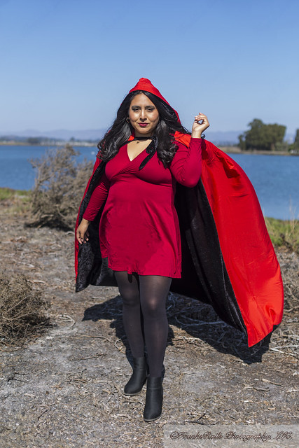Karen's Red Dress