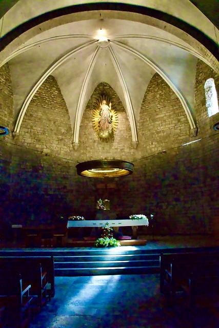 Altar de l'Església Parroquial de Santa Maria de Camprodon,  Ripollès, Girona.