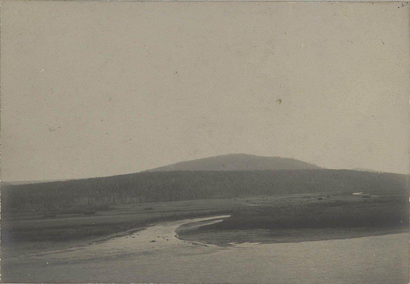 Устье реки Язовки на реке Аргуни
