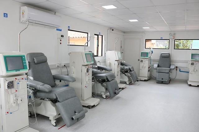 El nuevo Centro de Di�lisis Municipal de Coltauco comienza hoy a atender a sus primeros pacientes