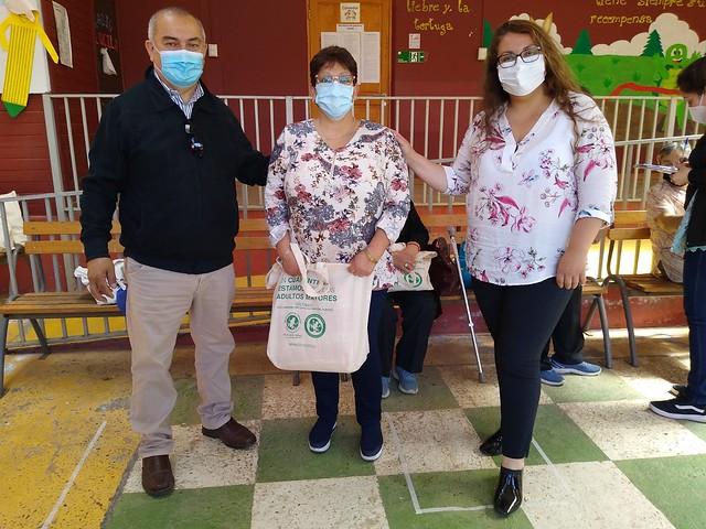 Abuelitos de Coltauco podr�n realizar sus talleres de manualidades en tiempos de pandemia