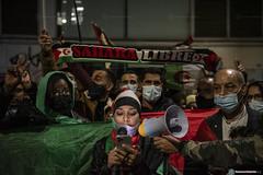 2020_11_18 Concentració per la llibertat del poble saharauí_Xavi Ariza(08)