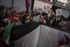 2020_11_18 Concentració per la llibertat del poble saharauí_Xavi Ariza(05)