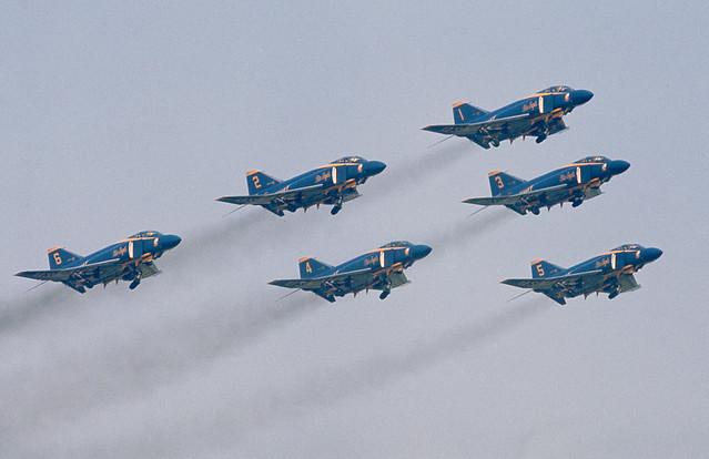 Blue Angels, McDonnell F-4J Phantom, Bentwaters, 26-05-1973