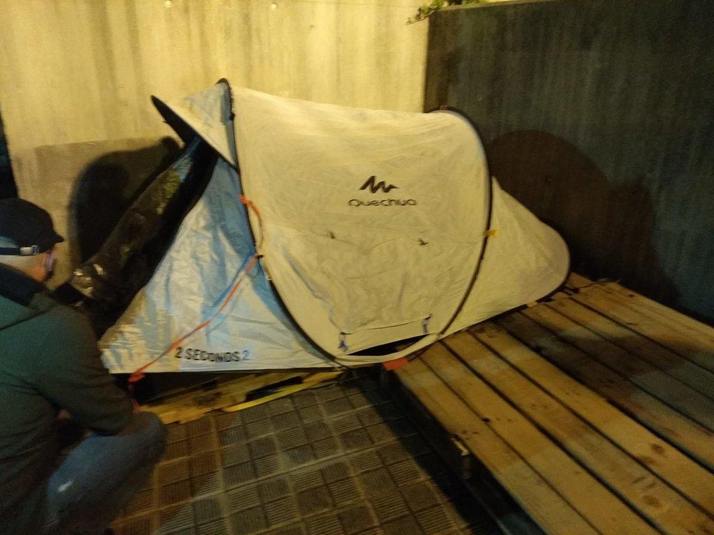 camping albergue
