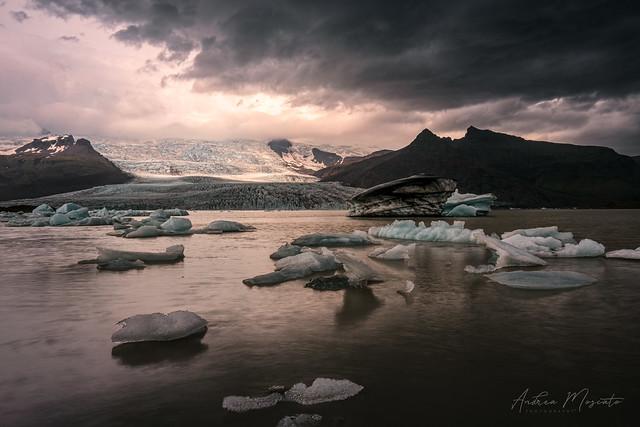 Fjallsárlón Iceberg Lagoon (Iceland)