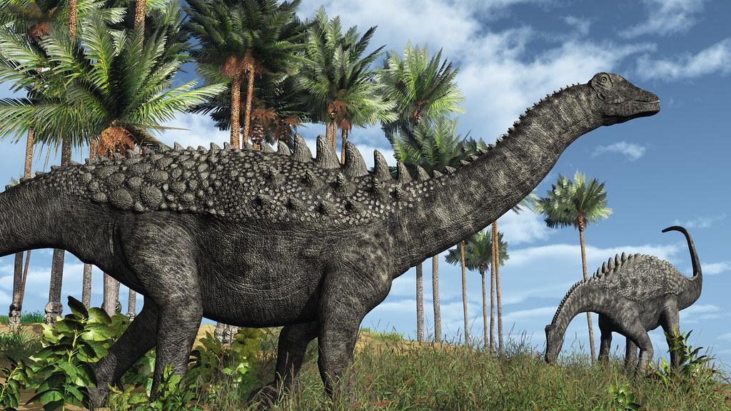 Artist's illustration of Ampelosaurus