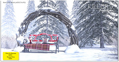 """Killer's"" Snow Arch Bench (Adult & PG) On Discount @ Tres Chic Starts from 17th Nov"