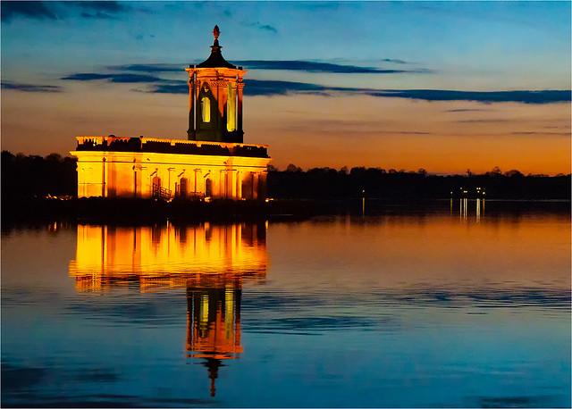 Normanton Church at night#Geoff Harman