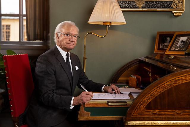 Boodschap van Koning Carl Gustav van Zweden (2020)