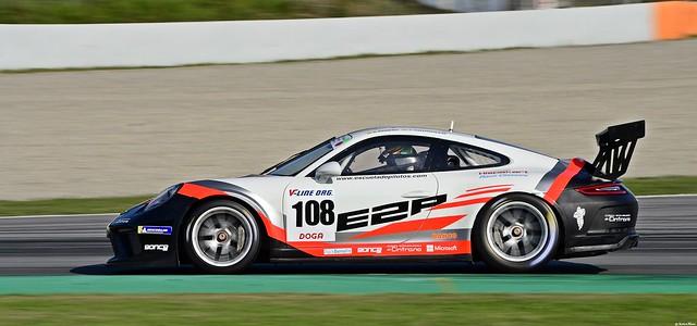 Porsche 911 GT3 Cup / Antonio Sainero Infante / ESP / Javier Morcillo Rodriguez / ESP / E2P Escuela  Española de Pilotos