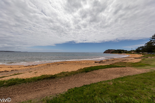 Picturesque Fishermans Beach, Collaroy, New South Wales, Australia