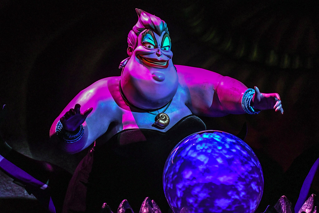 Ursula Little Mermaid DCA