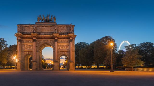 Arc de Triomphe du Carrousel, Paris-HDR