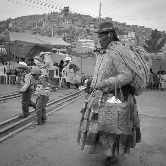 Indomitable Aymara Pachamama series