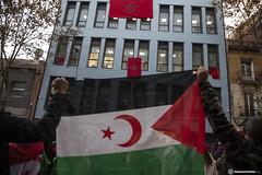 2020_11_18 Concentració per la llibertat del poble saharauí_Xavi Ariza(01)