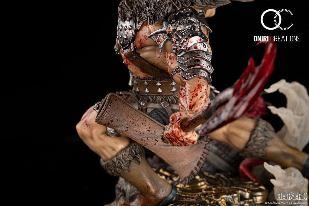 Oniri Créations《烙印勇士》不死的索特 1/6比例全身雕像!全身染血戰鬥的狂戰士姿態