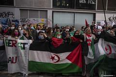 2020_11_18 Concentració per la llibertat del poble saharauí_Xavi Ariza(04)