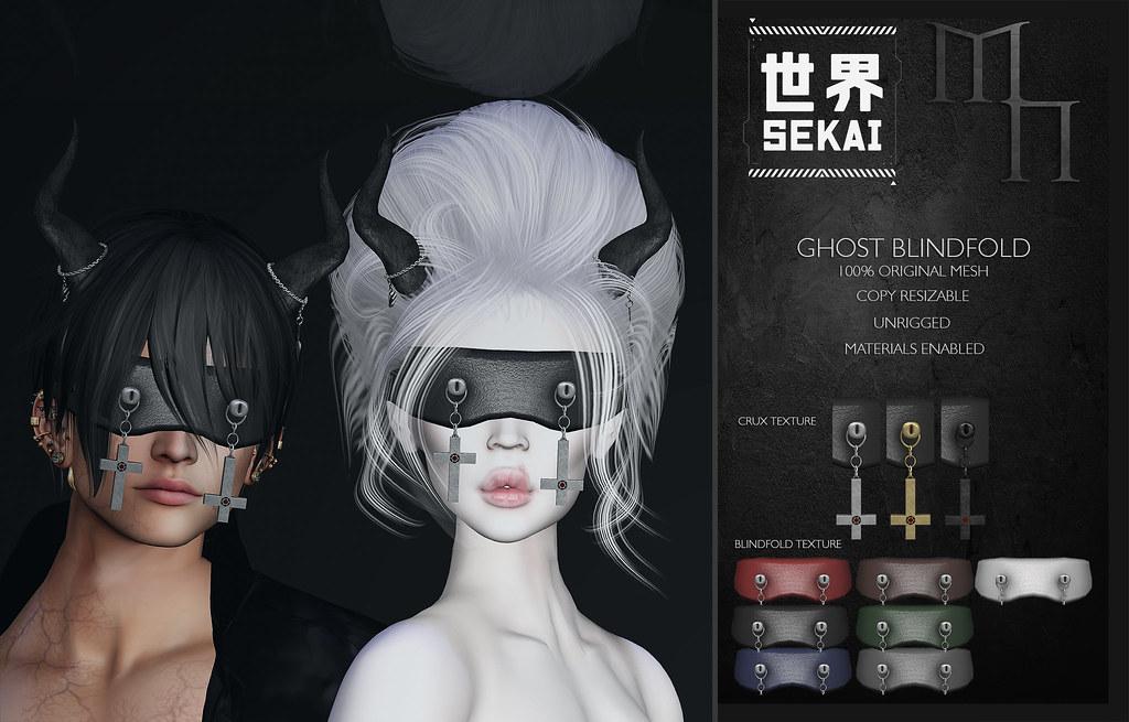 + SEKAI + Madame Noir –  Ghost Blindfold