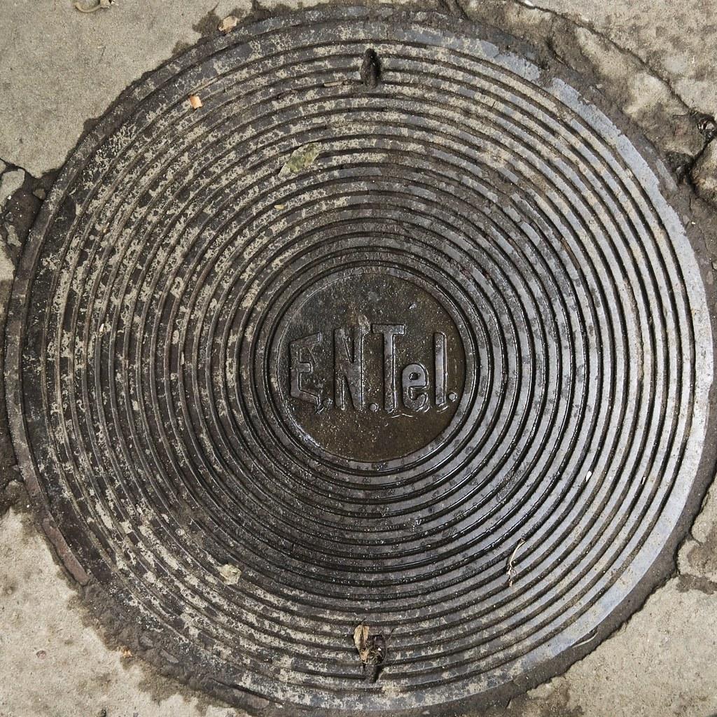 ENTel manhole cover