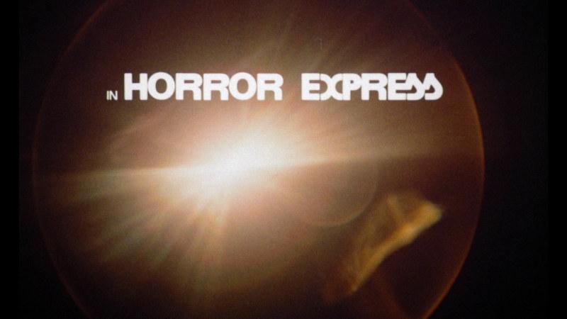 Image titre du film Terreur dans le Shanghai Express (Horror Express, Eugenio Martín, 1972)