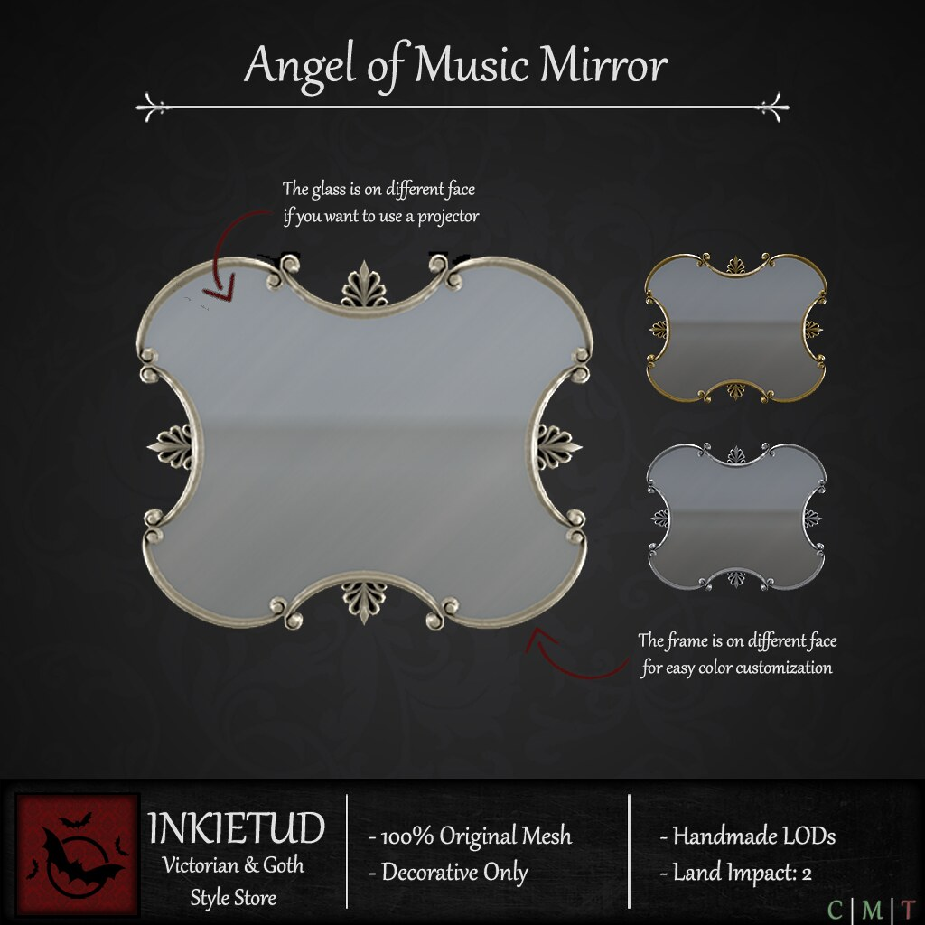 Angel of Music Mirror