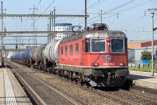 SBB Re 6/6 620 018 Pratteln