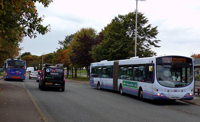 First Aberdeen 10165 SV05DXO & 10171 SV05DXW (28th September 2020)
