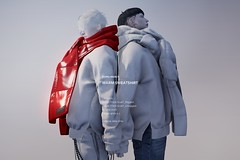 [Dope+Mercy]Warm Sweatshirt @ Aenigma Event