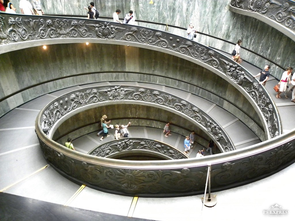 Michelangelo Stairs at the Vatican