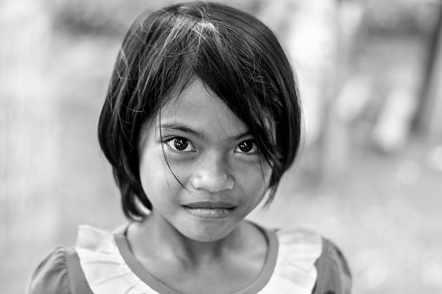 Little girl in Tanjay