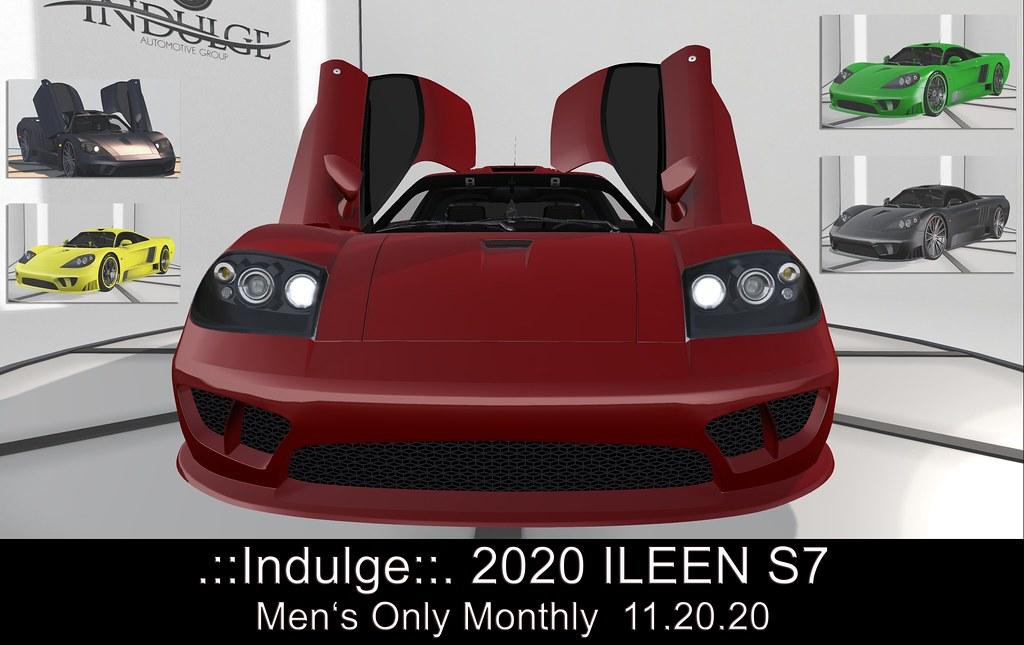 .::Indulge::.  2020 ILEEN S7 Exclusive