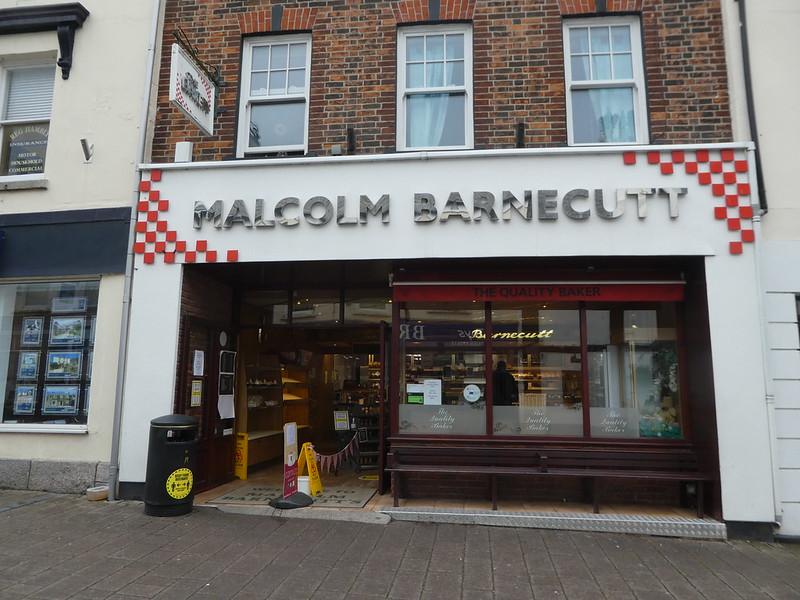 Malcolm Barnecutt Cornish Pasty shop, Wadebridge