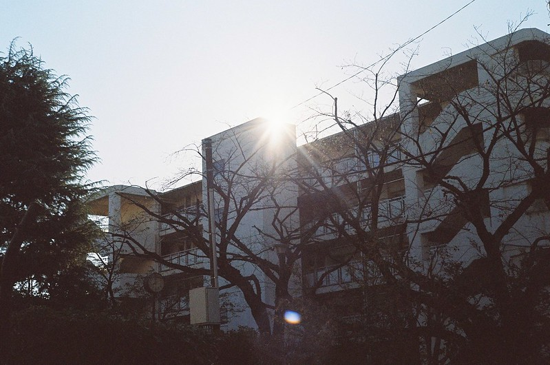 08KONICA HEXAR RF+Jupiter 8+宇宙の片隅ISO400上池袋二丁目アパート