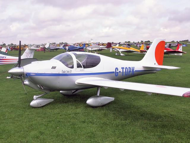 G-TOPK  -  Europa Aviation Europa 2 c/n PFA-247-14193  -  EGBK 4/9/10