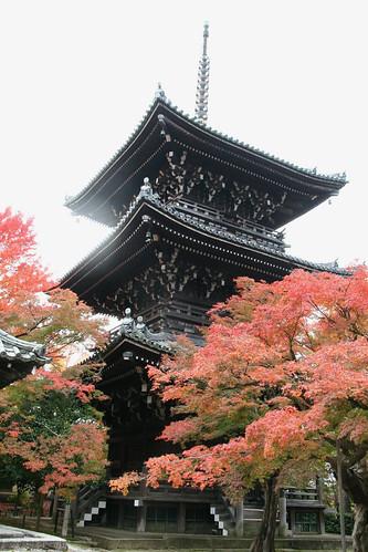 京都 真如堂三重塔