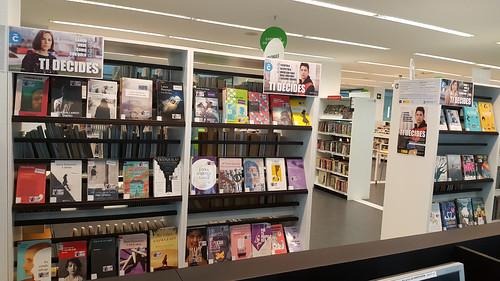 Mostras: 25N Día da Eliminación da Violencia sobre as Mulleres, na Biblioteca Os Rosales