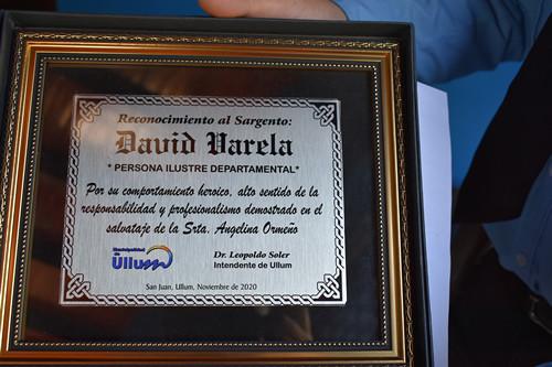 DISTINCIÓN DAVID VARELA