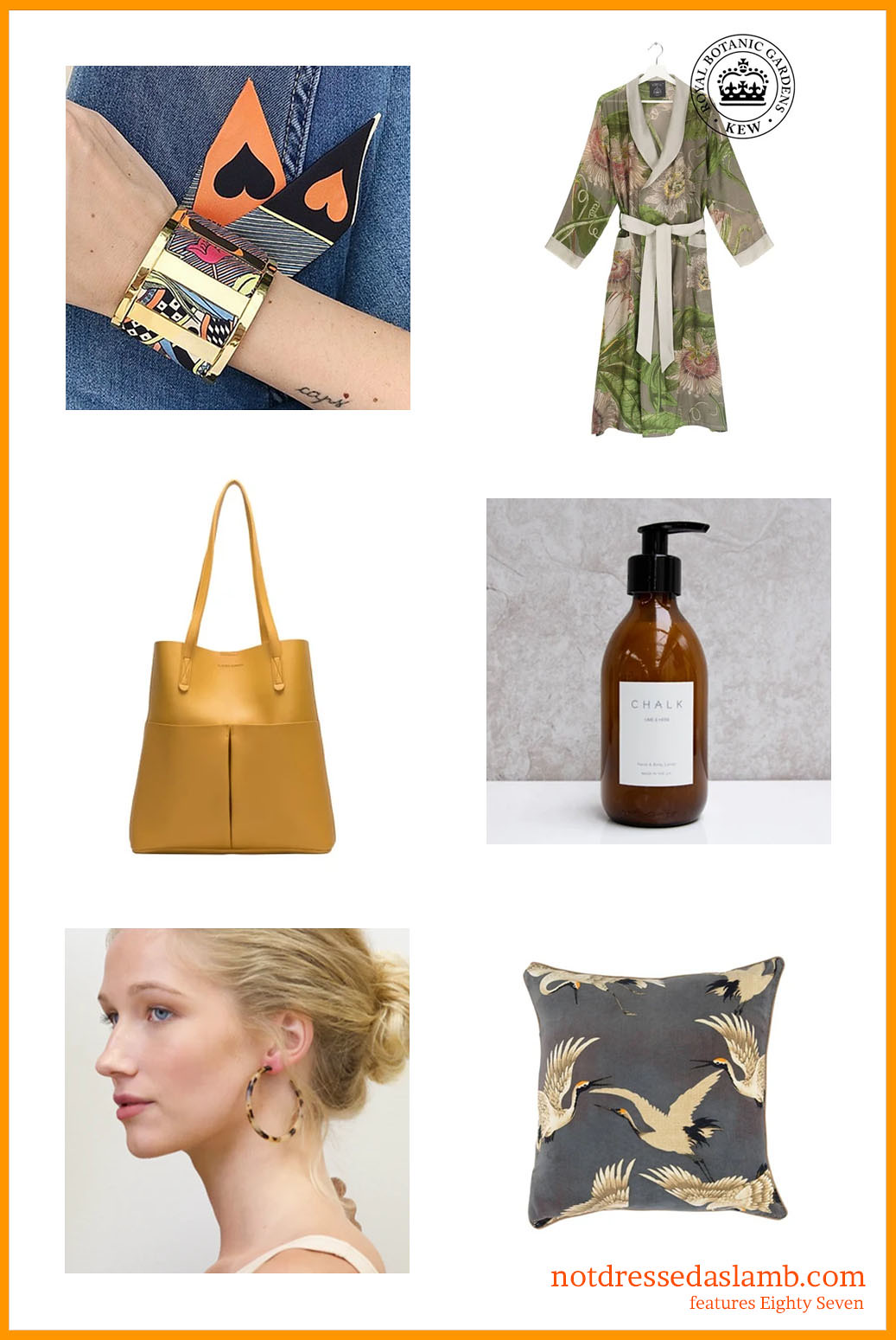 Christmas and Black Friday Gift Guide: 11 Indie, Sustainable and Local Sellers: Eighty Seven Style | Not Dressed As Lamb