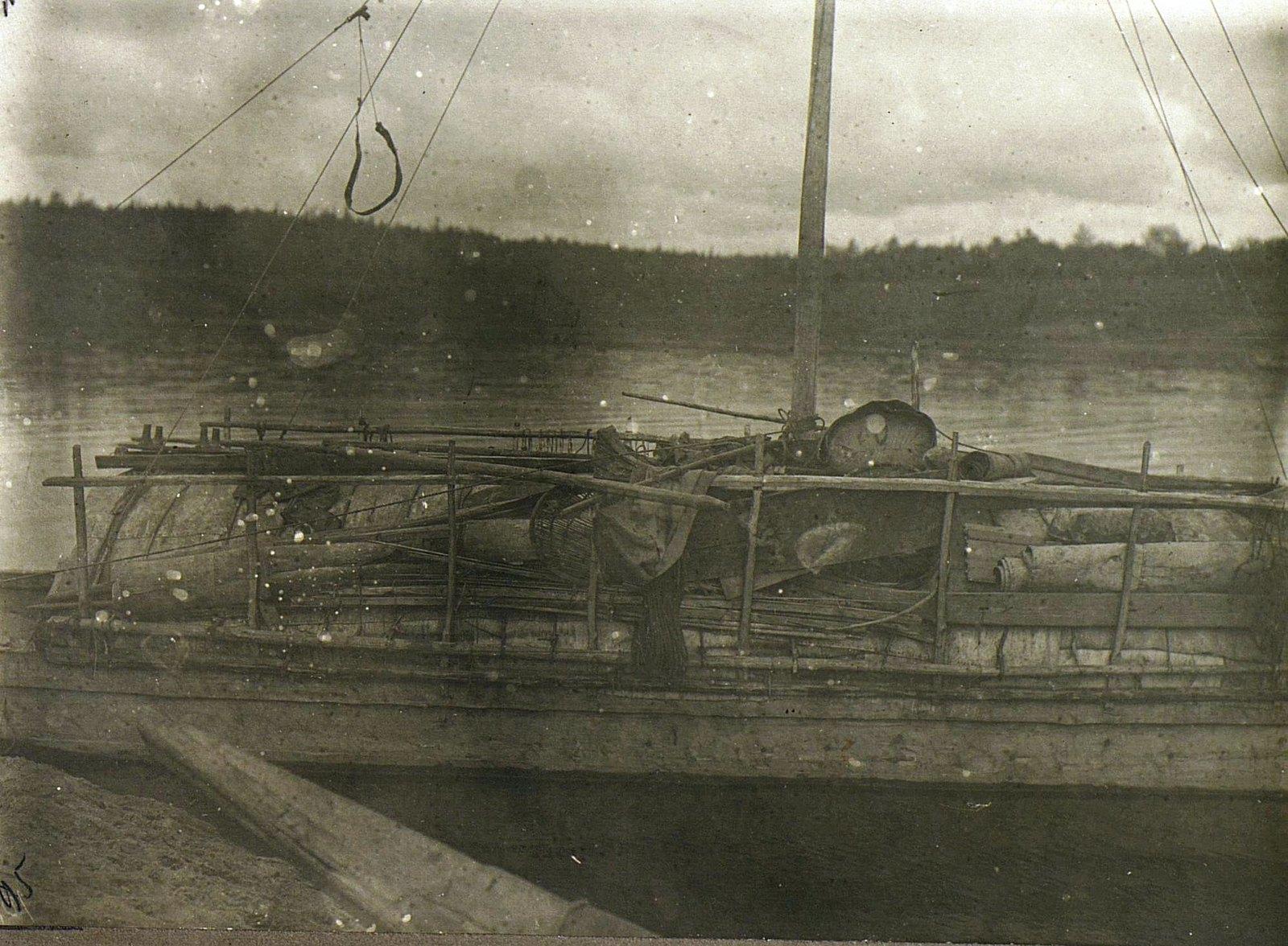 Палуба лодки