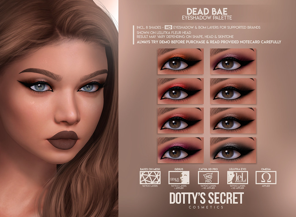 Dotty's Secret – Dead Bae – Eyeshadow
