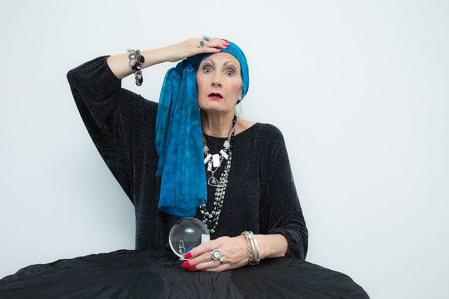 Madame Gloria wished she hadn't consulted her crystal ball for 2020
