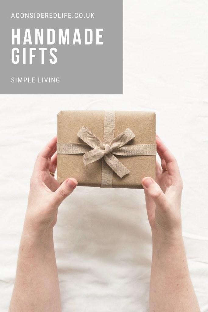 Zero Waste Homemade Gifts