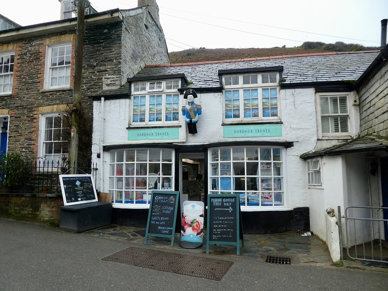 Mrs. Tishall's chemist's shop in Port Isaac