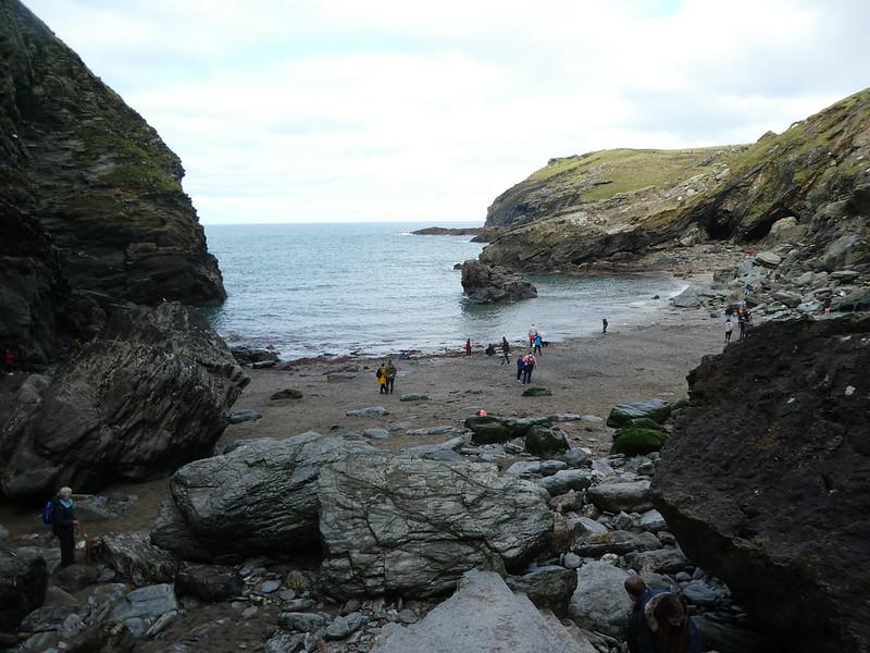 Tintagel beach, Cornwall